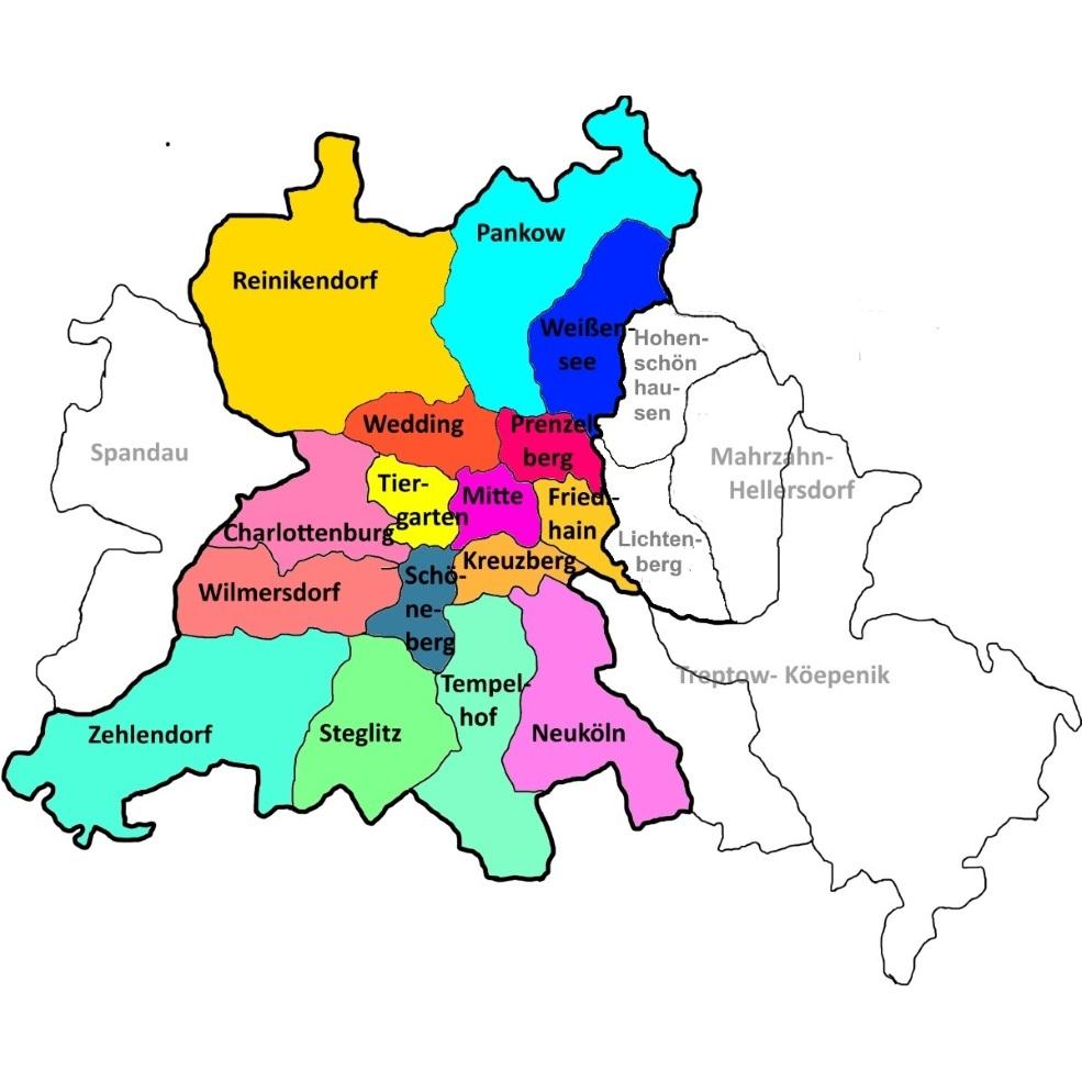Berlinkarte klein