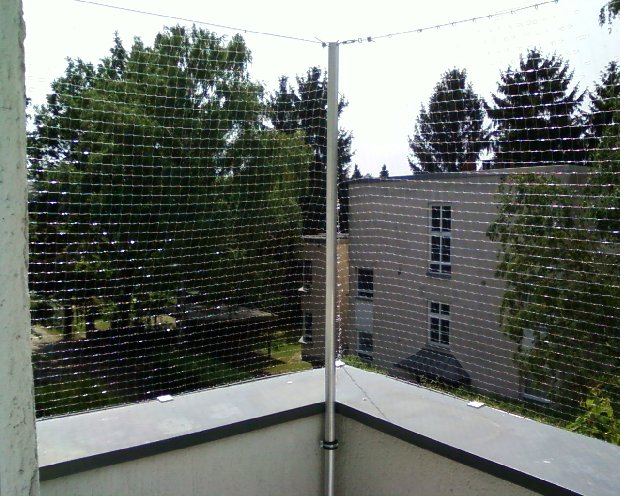 Balkon Drahtseil 4 x