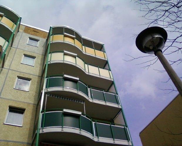 Balkon geländer 3 x